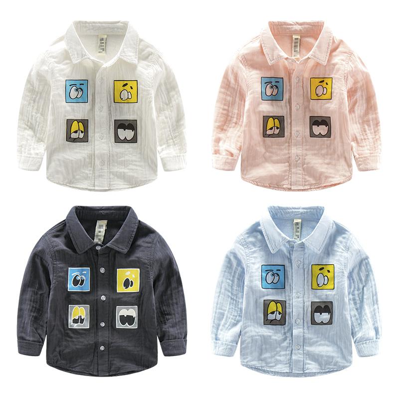 The font b boy b font fall 2016 cotton shirt cotton font b clothing b font