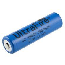 10 xUltraFire 18650 3.7 В литиевая аккумуляторная литий-ионная батарея 3800 мАч для из светодиодов факел