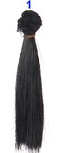 1pcs hair refires bjd hair 15cm*100CM black gold brown khaki white grey color short straight wig hair for 1/3 1/4 BJD diy(China (Mainland))