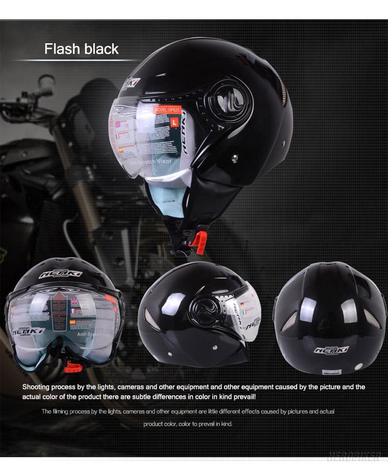 NENKI Removable Liner Summmer Motorcycle Helmet Men Women Motorbike Motocross Helmet Cascos Para Moto Motosiklet Kask  4 Season