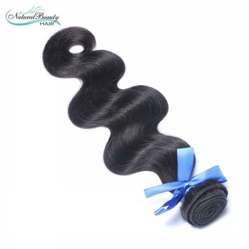 High quality Natural beauty brand Human hair Unprocessed Virgin Brazilian Hair 1 pcs a lot Body Wave Human hair