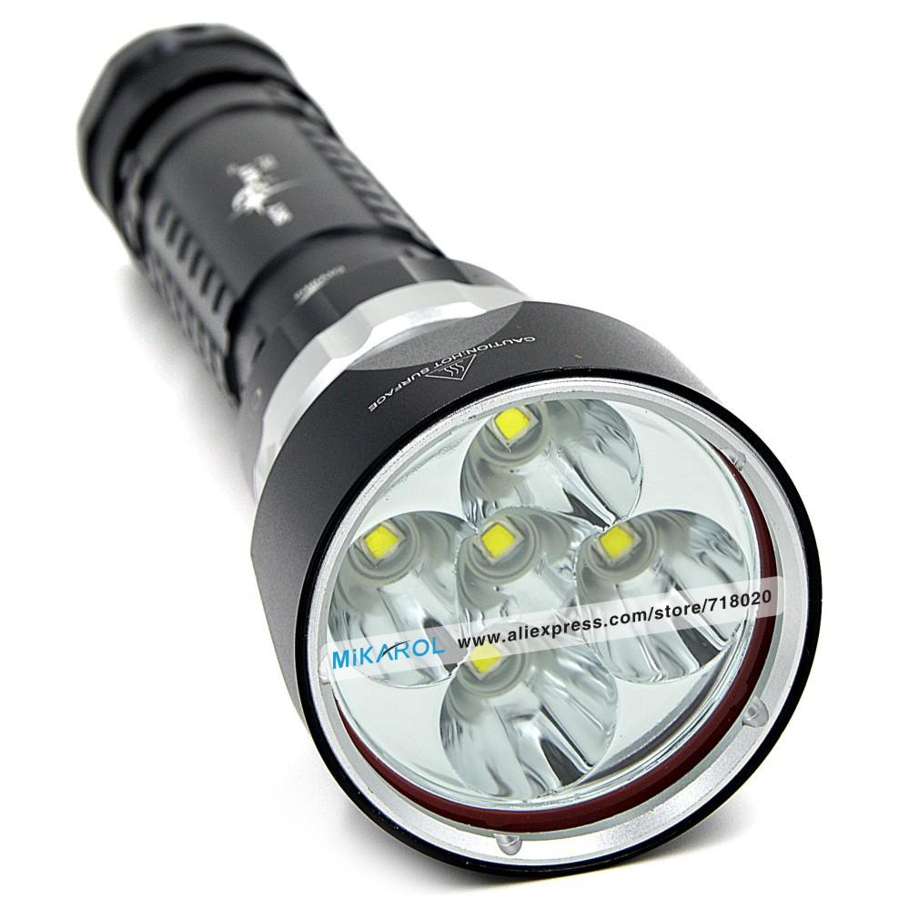 High Power Flashlight Bright LED Diving Lamp, 30W Original USA Cree L2 LED Bulbs 6000 Lumens Maximum Brightness(China (Mainland))