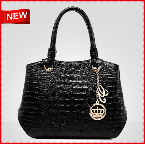 2016  free shipping New Fashion Brand Leather Women Bags Shoulder Bag Female Tote Crocodile Bag<br><br>Aliexpress