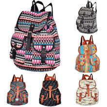Hot sale free shipping women Vintage Women's Canvas Travel Rucksack Hobo School Bag Satchel Bookbags Backpack(China (Mainland))