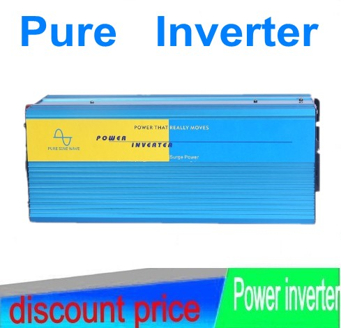 Input voltage DC24v 5000w pure sine wave inverter / converter output AC110V/220V Solar Wind Power home system home system<br><br>Aliexpress