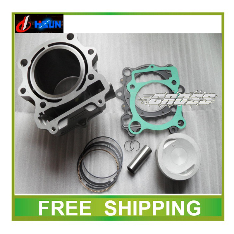 HS400 ATV 400CC HISUN HSUN CYLINDER HEAD ATV accessories free shipping(China (Mainland))