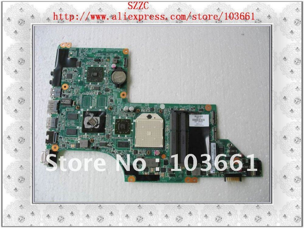 llaptop motherboard for HP DV7 605497-001  AMD HD5470/512 MB Discrete  graphics  100% tested   good