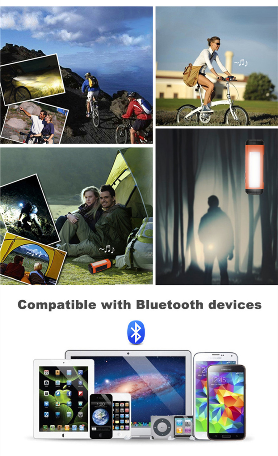 Solar Bluetooth Speaker 2