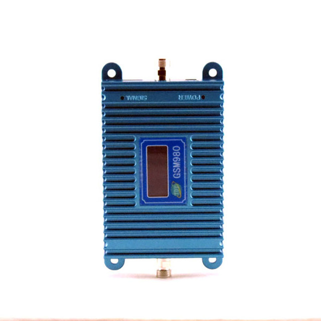 1PCS 2000square meters 900MHZ Signal Repeater GSM980 LCD Display Cell Phone Mobile Signal Booster/Amplifier