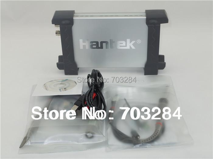 Free shipping Brand New Hantek 6022BE PC-Based USB Digital Storag Oscilloscope with 2 probe 2Channels 20MHz 48MSa/s(China (Mainland))
