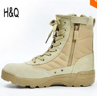 New America Sport Army Men's Tactical Boots Desert Outdoor Hiking Boots Military Enthusiasts Marine Male Combat Shoes(China (Mainland))