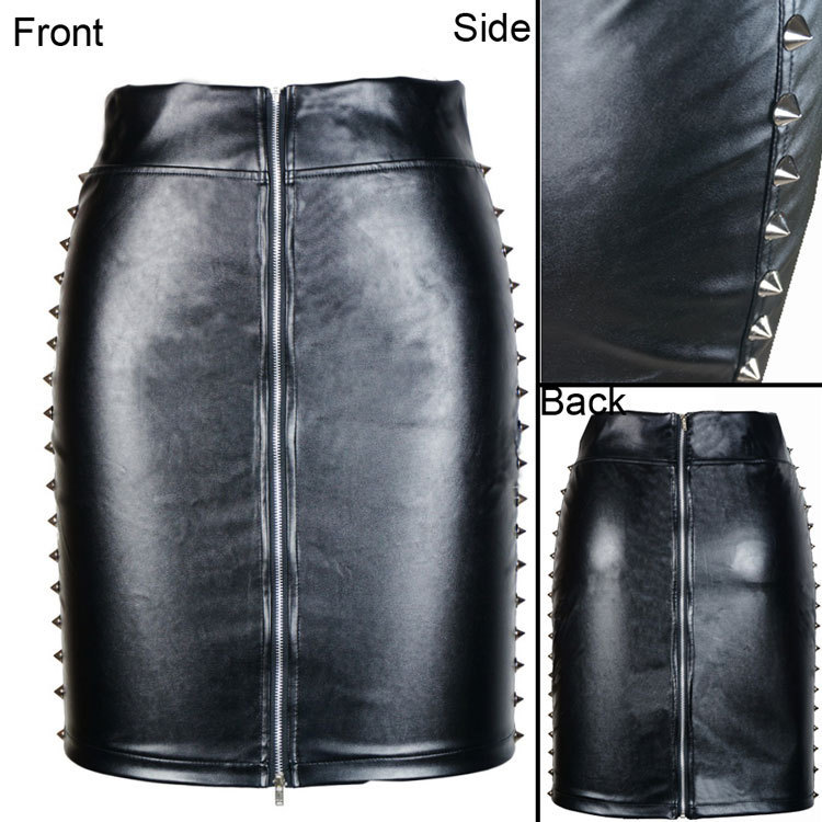 leather skirt Picture - More Detailed Picture about 2 Types New ...