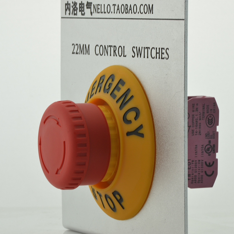 [ BELLA]Set the emergency stop switch warning signs Izumi emergency stop button + import warning signs OD 701 NC contact--10PCS/<br><br>Aliexpress