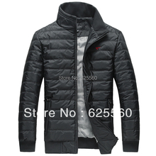 Free shippingSeven authentic jacket male Wolf of new fund of 2013 autumn winters is pure color big size men's jacket XXXL XXXXL