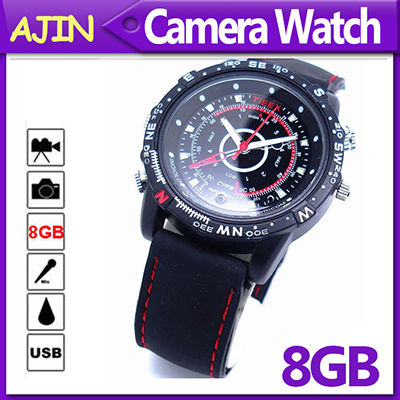 Smart Wrist Watch Camera 8GB,Mini DV DVR, Recording+Video+Take Picture(China (Mainland))