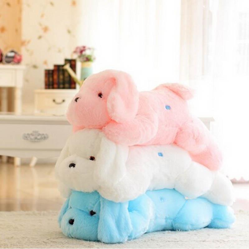 Animal Light Pillows : 2016 New Hot Sale 50 CM Colorful Luminous teddy dog LED Light Plush Pillow Cushion Kids Toys ...
