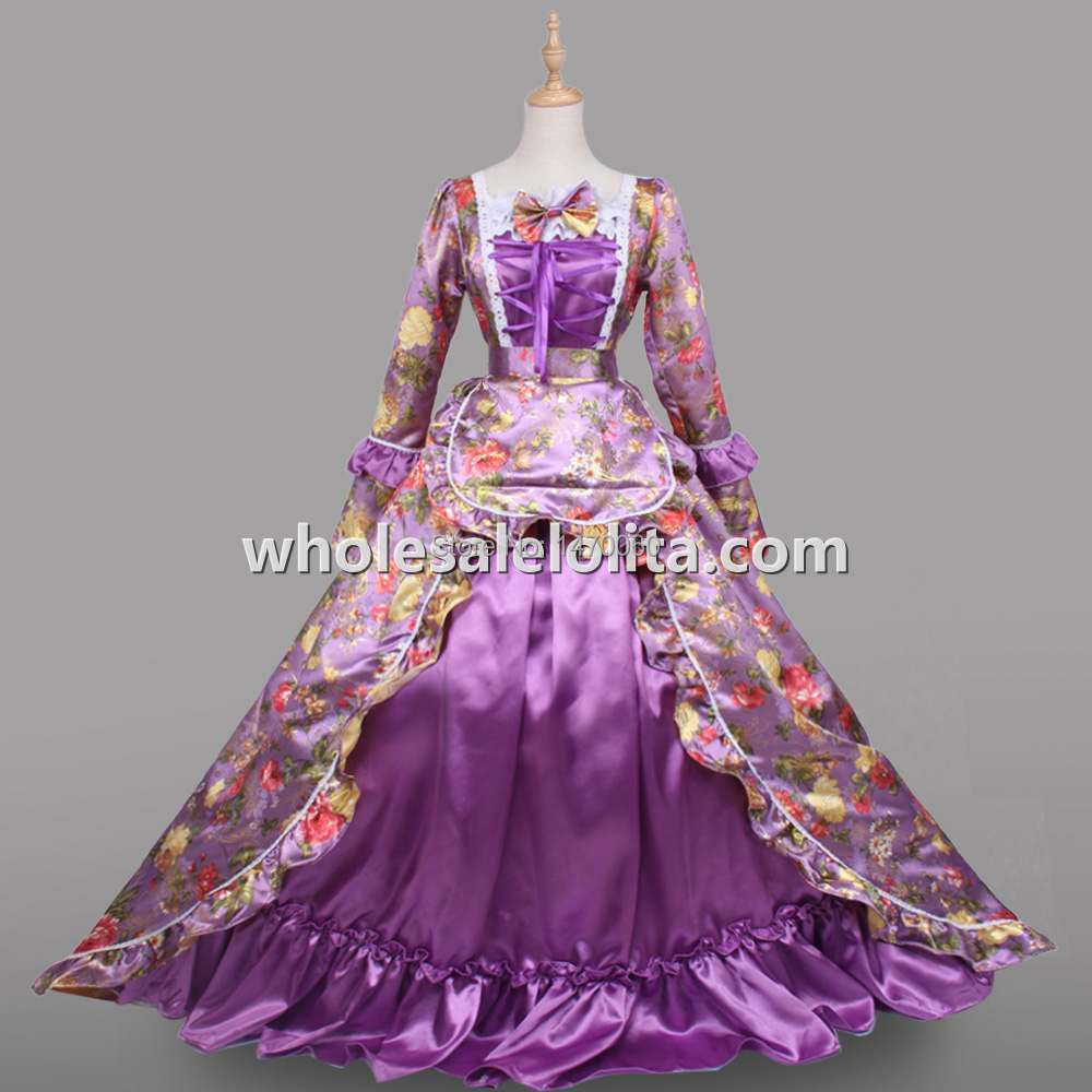 Marie Antoinette Victorian Dress Ball Gown Prom Wedding