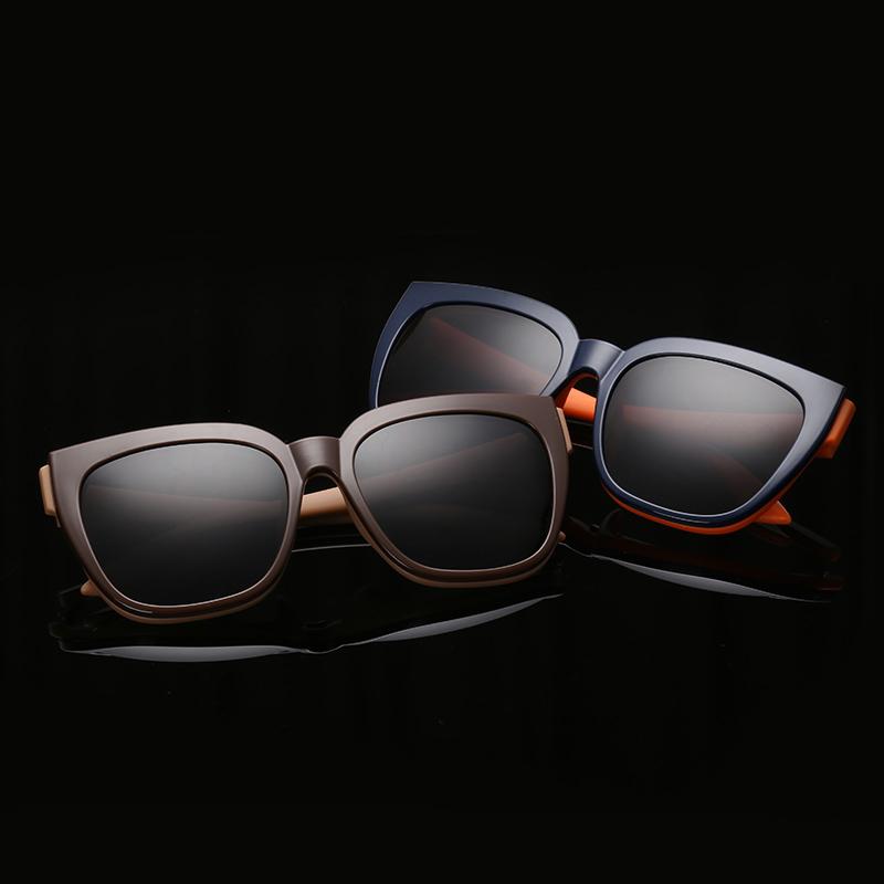 High Quality Fashion Polarizing Sunglasses The new TR90 Polarized Man Sunglasses Detachable Flat Glasses fsk1528(China (Mainland))
