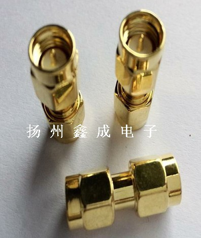 High quality copper rf coaxial sma-jj 50 double connector<br><br>Aliexpress