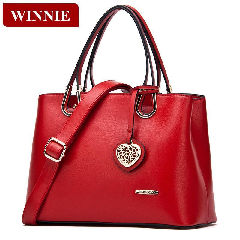 Fashion Female Package 2015 Winter Elegant Women Handbag High Quality Leather Shoulder bag Messenger Bag Casual Tote
