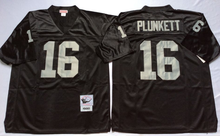Stitiched,Oakland Raider T.Brown stabler Jim Plunkett Throwback for men(China (Mainland))