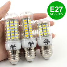 Buy E27 high power AC220V christmas lights SMD5730 led bulb lamp Warm White/ white 24 36 48 56 69LEDs 5730 SMD lampada led bulb for $1.31 in AliExpress store