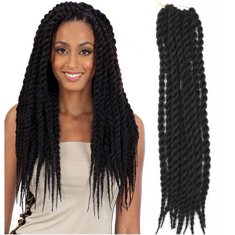 Havana Mambo Twist Crochet Braids Hair 12 in 75g/pc crochet braid hair senegalese twist 12 inches synthetic hair for braid