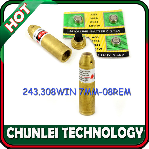 Лазер для охоты CHUNLEI 308 243 7 /08 /sighter .308 243 and 7mm-08