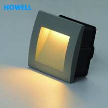 g06601 howell 1w IP65 hight quality soft light smd led wall lighting step lamp outdoor walkway waterproof recessed lights(China (Mainland))