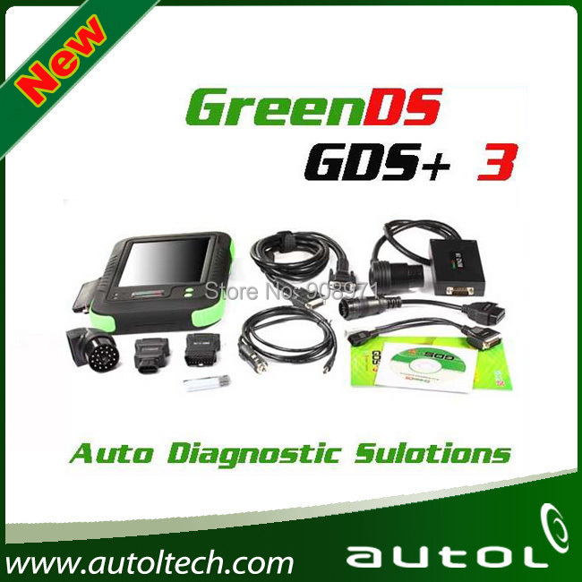 Support B enz Trucks!!! Professional Universal Diagnostic Tool OEMSCAN GreenDS GDS+3 Much Powerful than MaxiSys mini MaxiSys pro(China (Mainland))