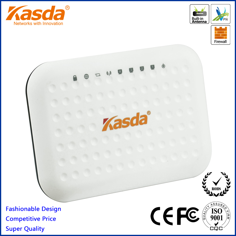 Kasda 11n Wireless Home Router 300M KW55293UK with 5 Fast Ethernet Ports for LAN WAN(China (Mainland))