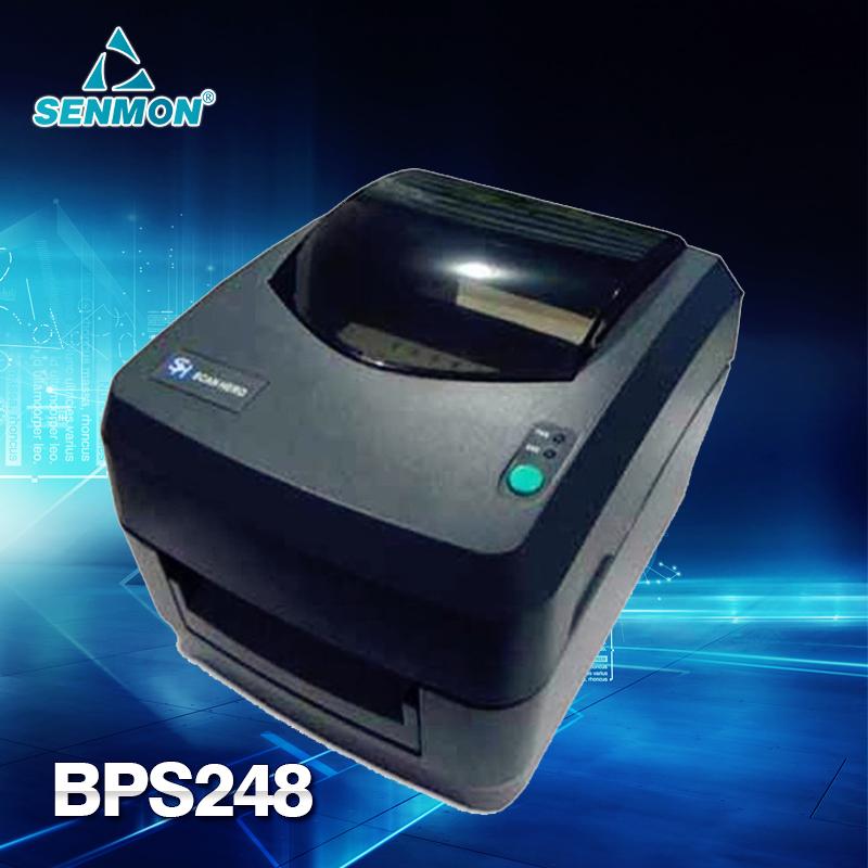 CPU 32 Bit High Quality Scanhero BPS248 Thermal Barcode Label Printer Sticker Printer Support 1D 2D QR Barcode<br><br>Aliexpress