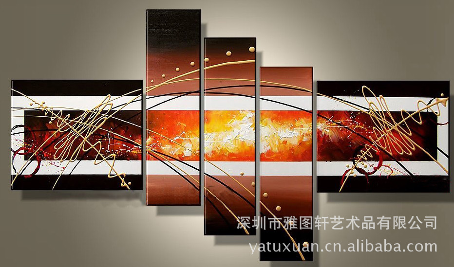 wall decor oil painting modern oil painting on canvas abstract painting black white pop art cheap modern paintings XD5-024
