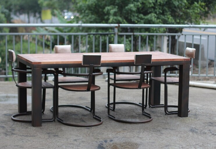Iron Wood Dining Tables And Chairs Wrought Iron Chairs And Coffee Table Small Apartment Bar