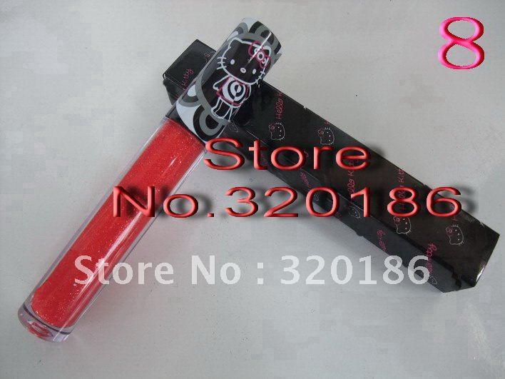 2012 New Wholesale+Free Shipping NEW Hello Kitty LIP GLOSS LIPGLOSS(100PCS /LOT)#2144(China (Mainland))
