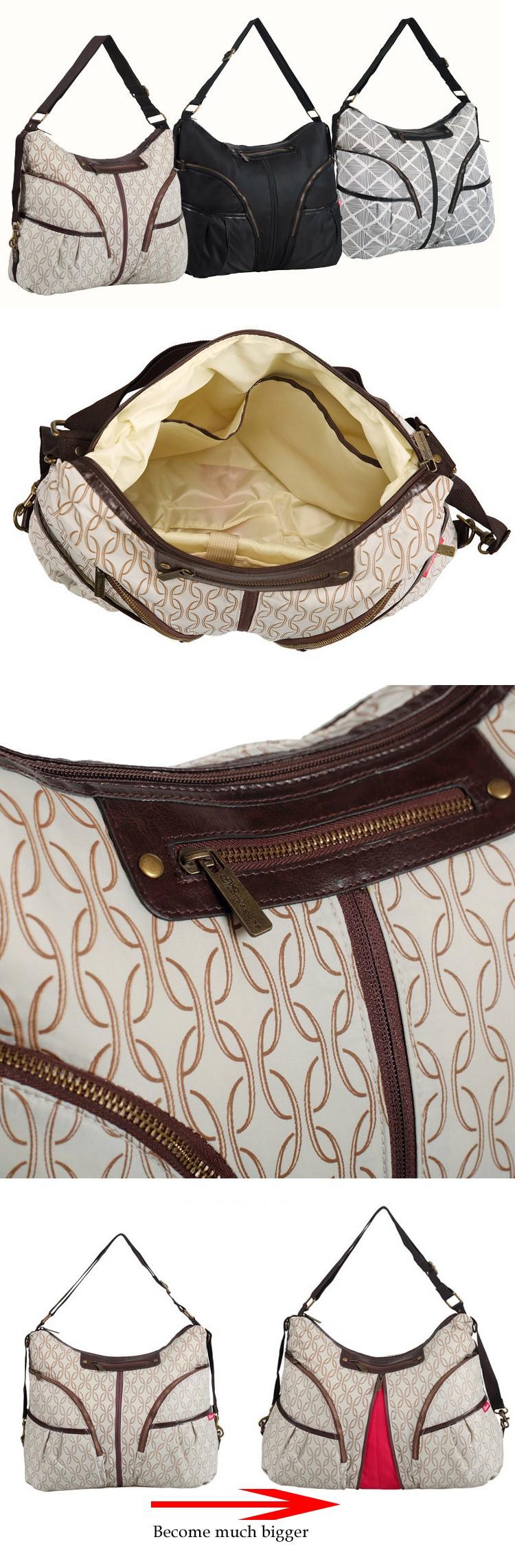 2016 горячая распродажа пеленки младенца сумки беременным мумия мешок для женщин новорожденного сумка большой емкости пеленки мешок