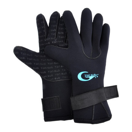 3mm neoprene swimming diving gloves with the magic stick for Winter fishing gloves