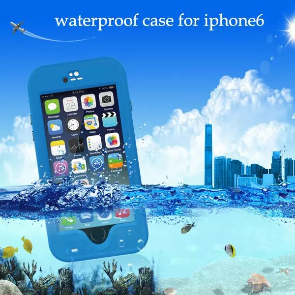 """For iphone 6 4.7"""" cell phone summer daily life waterproof mobile phone case cover I6 4.7 anti knock protection cover case New(China (Mainland))"""