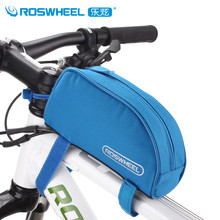 Roswheel Cycling Bike Bag Bicycle Phone Pouch Portable Outdoor Sport Cycle Bags Polyester Fabric High Quality 6 Colors