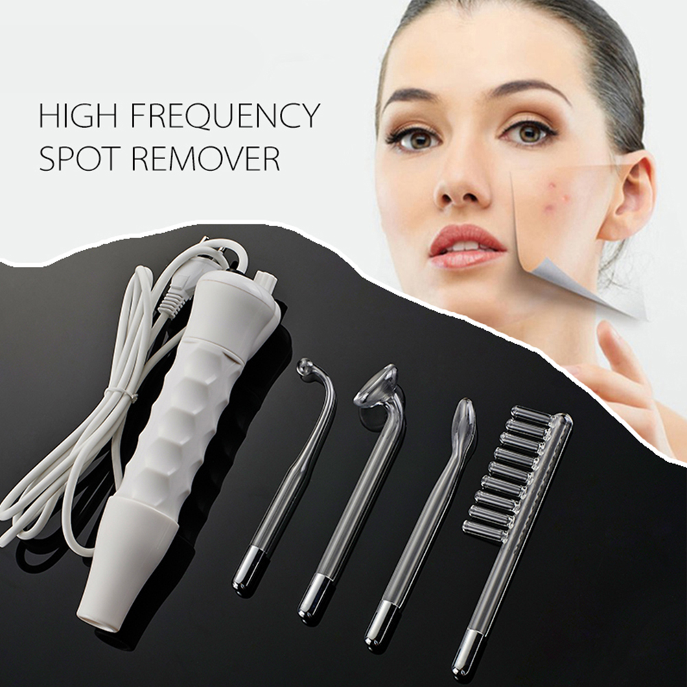 2016 Professional High Frequency Spot Acne Remover Electrodo Massage Spa Face Skin Health Care Beauty Product Machine(China (Mainland))
