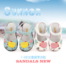 free shipping! genuine leather 1 – 3 years old female male child kids sandals baby girl boy shoes cute princess walking shoes