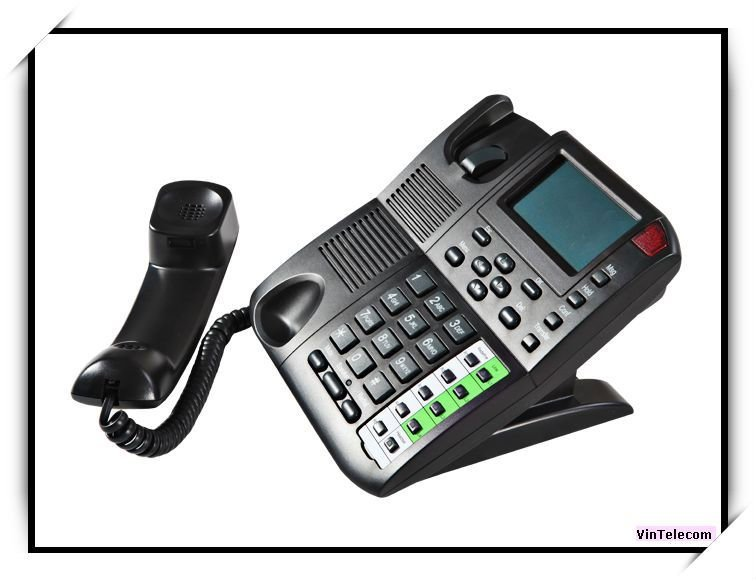 Hot sell -4SIPs internet Phone / VoIP Telephone / IP PHONE with PoE -new(China (Mainland))
