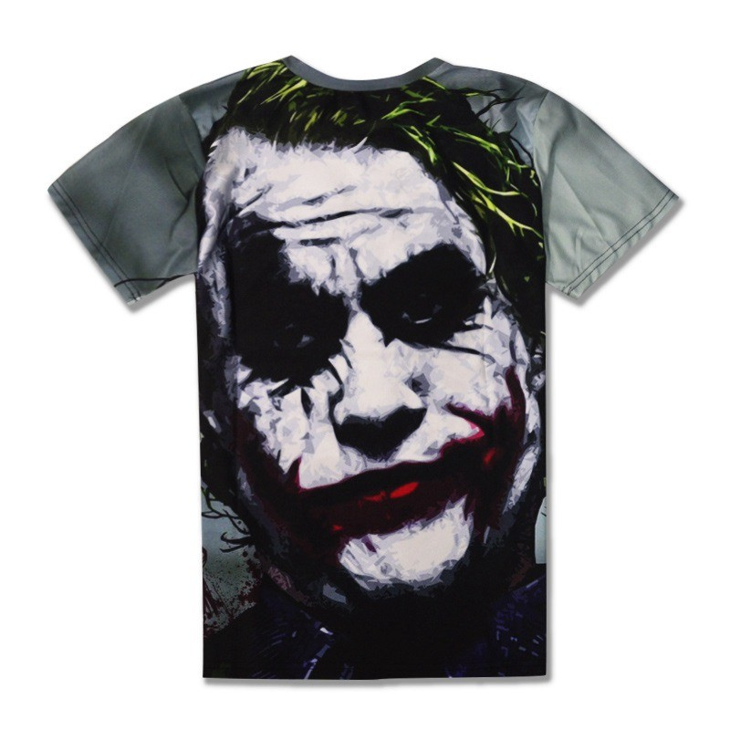 Halloween Joker 3D T shirt Casual Funny Anmie Character Joker Poker 3D T-shirt Summer style Full Printing Tops Tees (3)