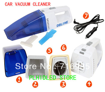 DC 12V dry and wet vacuum cleaner  (DBL-380 car dust collector )