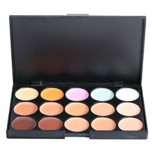 The New Hot Special Professional 15 Color Concealer Facial Face Cream Care Camouflage Makeup base Palettes Cosmetic(China (Mainland))