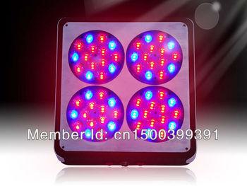 Fedex Free ship Apollo4 60*3W LED Grow Lights with dropship worldwide 3 years warranty for Hydroponics plants growth