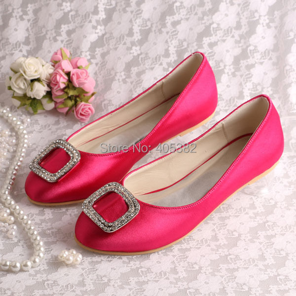 Baby Pink Ladies Flat Shoes