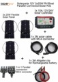 Solarparts 12V 3x25W DIY RV Boat Kits Solar System 25W flexible solar panel1x 10A solar controller