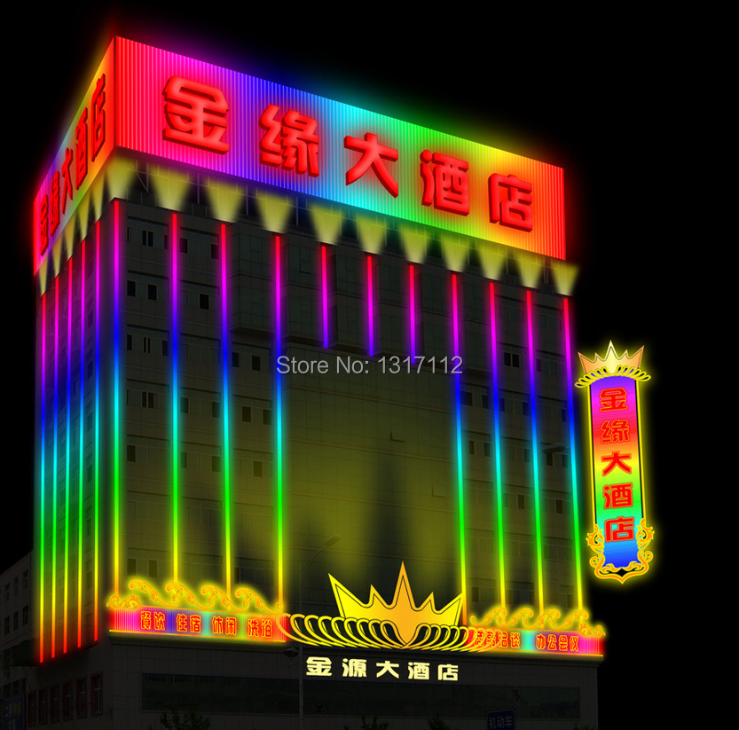 dmx rgb led digital tube 6 pixel IC digital tube in full colour external control(6 pixel) DC:24V(China (Mainland))