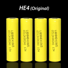 2Original LG HE4 18650 rechargeable lithium-ion battery 3.7V 2500mAh Battery keep electronic cigarette 20A discharge - LiitoKala Official Flagship Store store